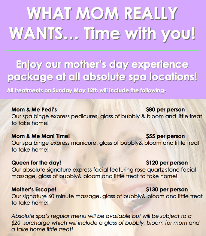 Mother S Day Spa Packages  Near Me