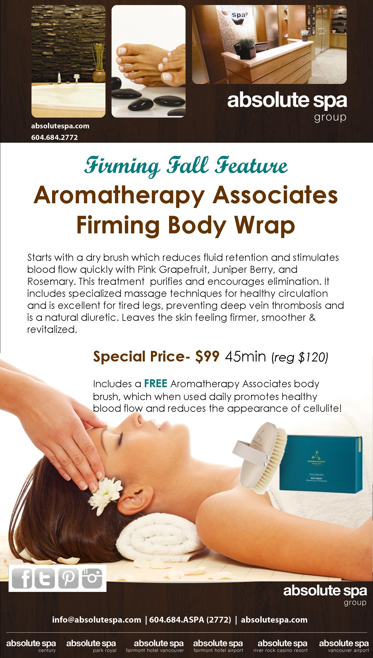 New! Firming Fall Feature Body Wrap